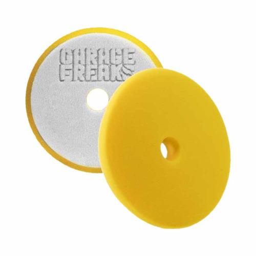 Garage Freaks Polierpad Medium Cut Foam Pad - medium, gelb, 150mm
